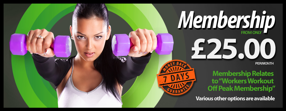 Membership from only £22.00